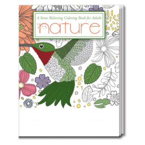 Adult Coloring Book - Nature