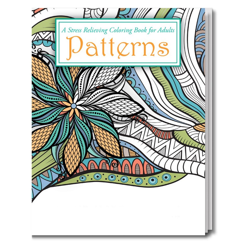 Adult Coloring Book - Patterns