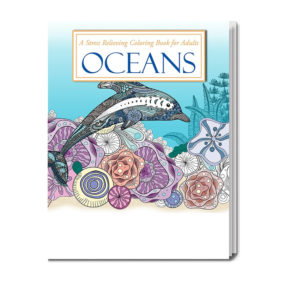 Adult Coloring Book - Ocean