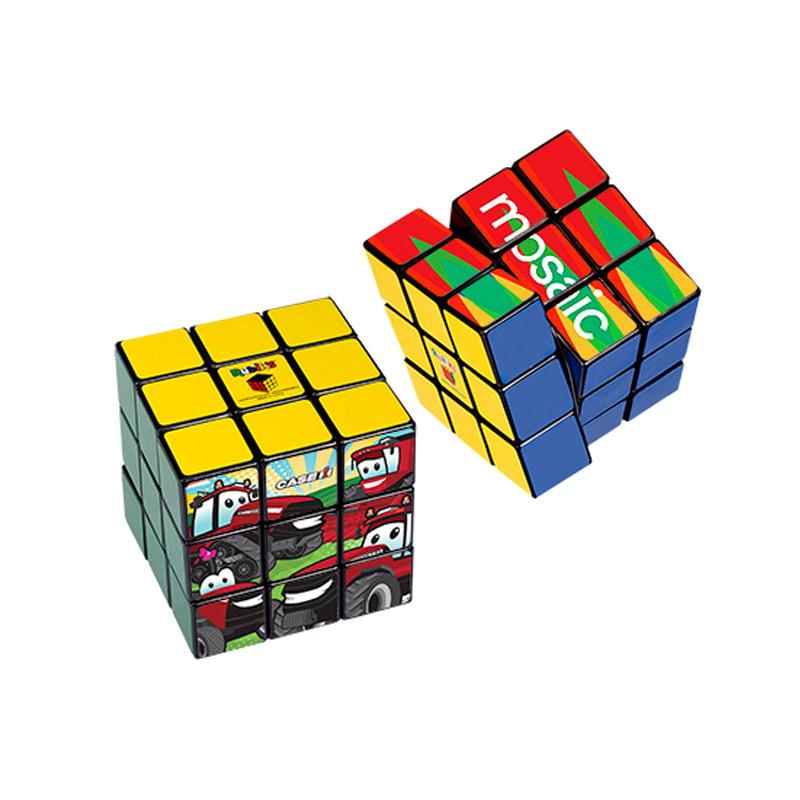 Rubik's® 9-Panel Full Color Cube