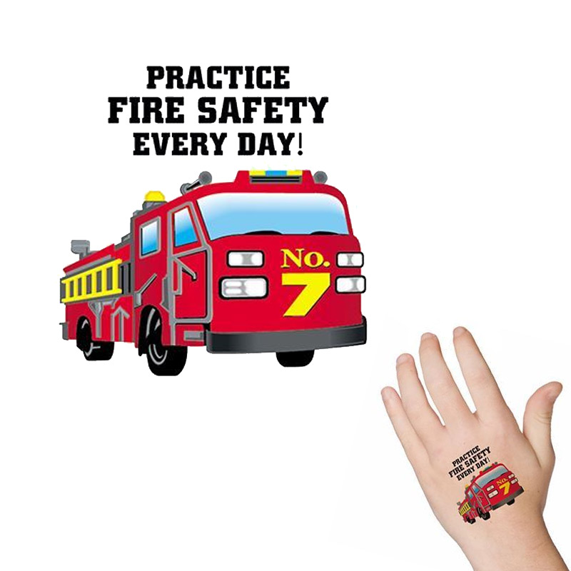 Fire Truck Tattoo