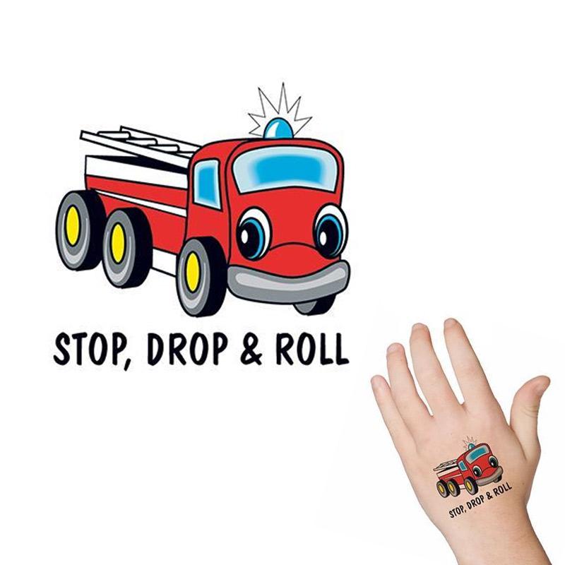 Fire Truck Tattoo