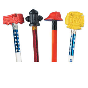 Fire Prevention Assorted Pencil Toppers