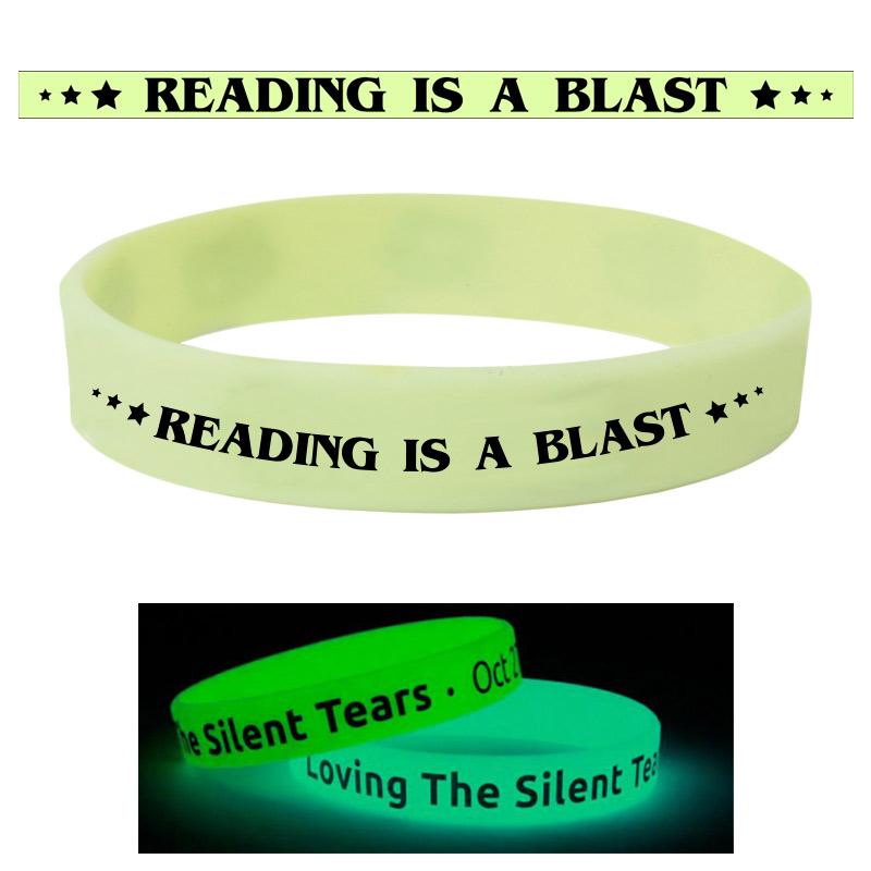 Silicone Glow Bracelet