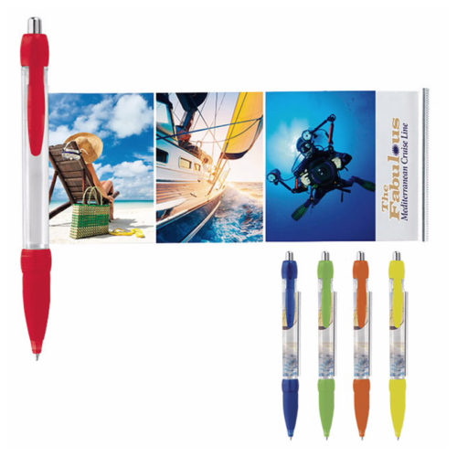 Translucent Colored Banner Pen