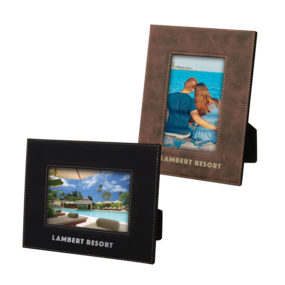 "4"" X 6"" La Porte Stitched Photo Frame"