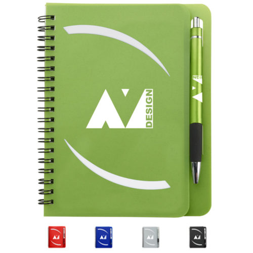 Huntington Notebook with Pen