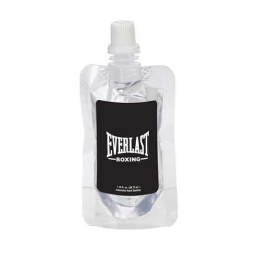Squeeze Pouch Clear Sanitizer